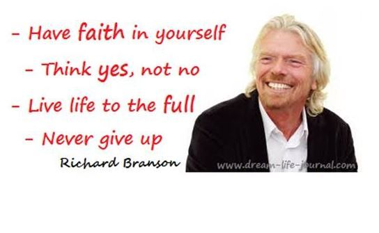 Motivationssprüche, Richard Branson, Motivation, Zitate, Spruch