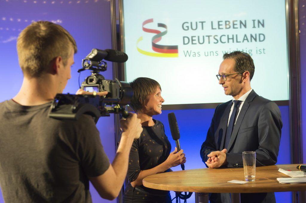 """Das MfG begleitete das Bundesministerium der Justiz und für Verbraucherschutz während der Veranstaltungen zur Regierungsstrategie """"Gut leben in Deutschland – was uns wichtig ist""""."""