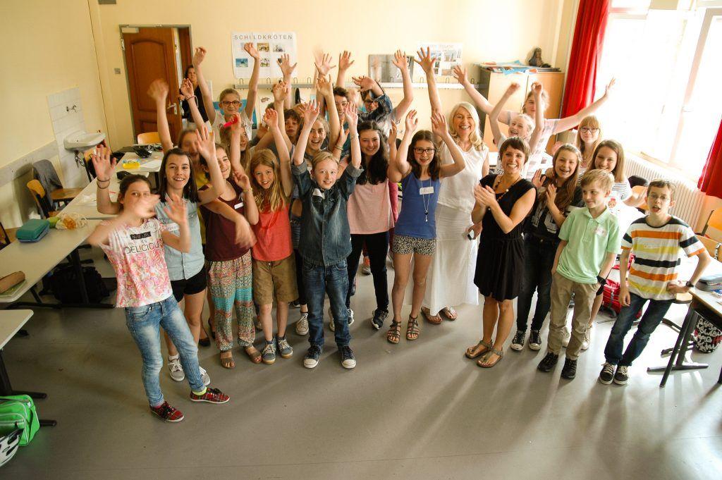 Schulworkshop des Ministeriums für Glück und Wohlbefinden