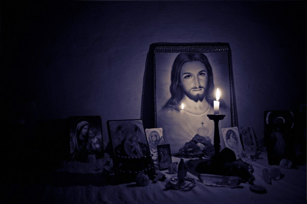 Sinn des Lebens finden Religion Bibel Jesus Christus