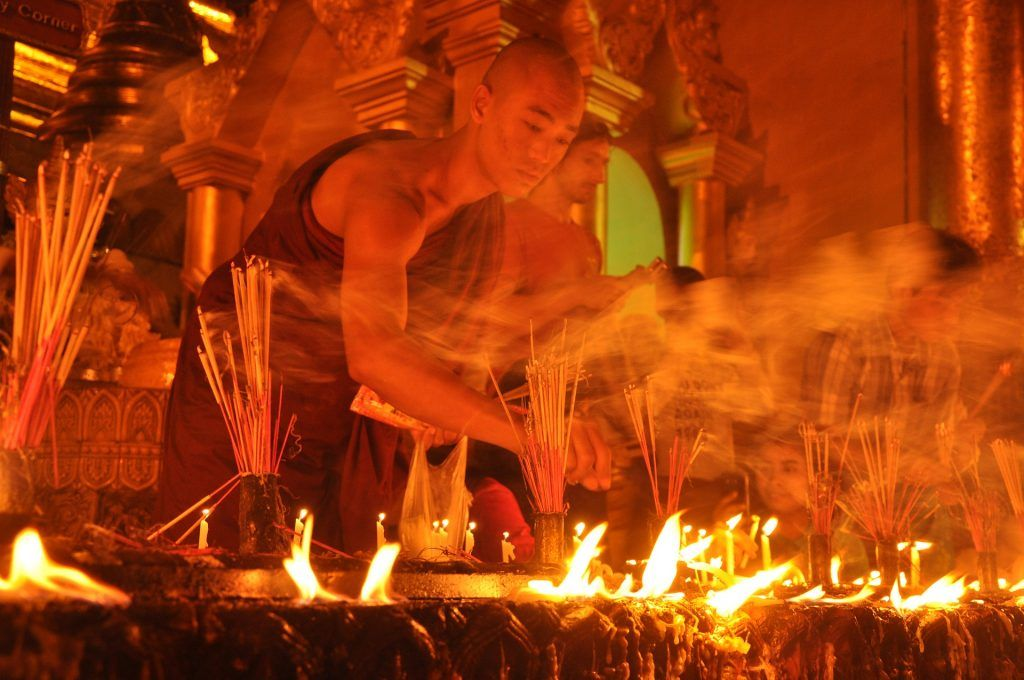 Sinn des Lebens Religion Gott Buddhismus