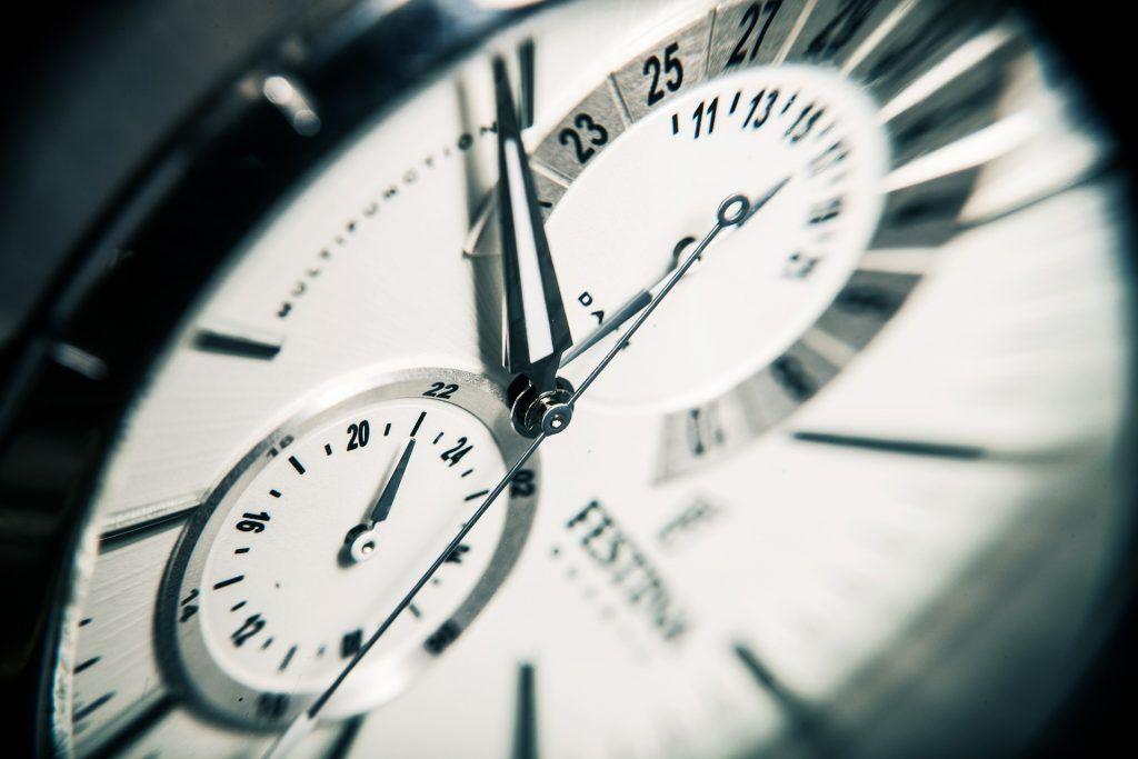 Memento mori: Die begrenzte Zeit sinnvoll nutzen Uhr