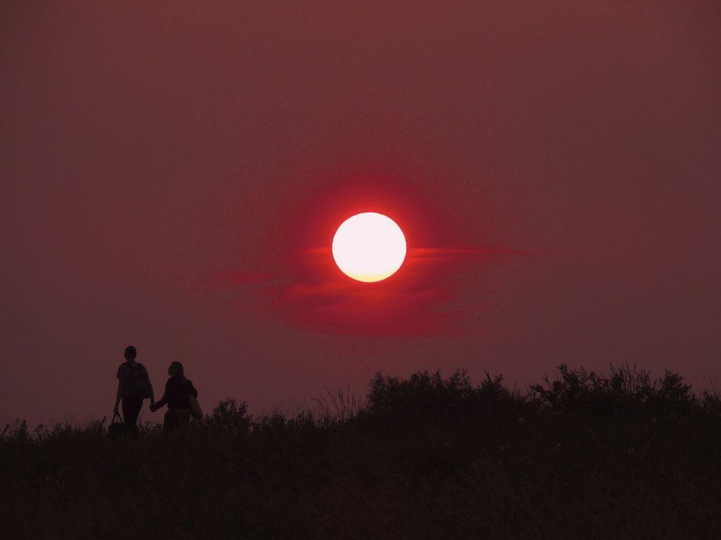 sunset Memento mori: Die begrenzte Zeit sinnvoll nutzen