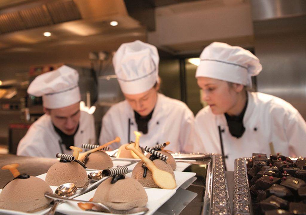Bäcker im Cafe Luitpold