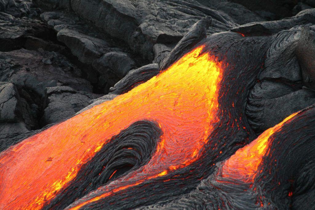 Vulkane und der Ursprung des Lebens