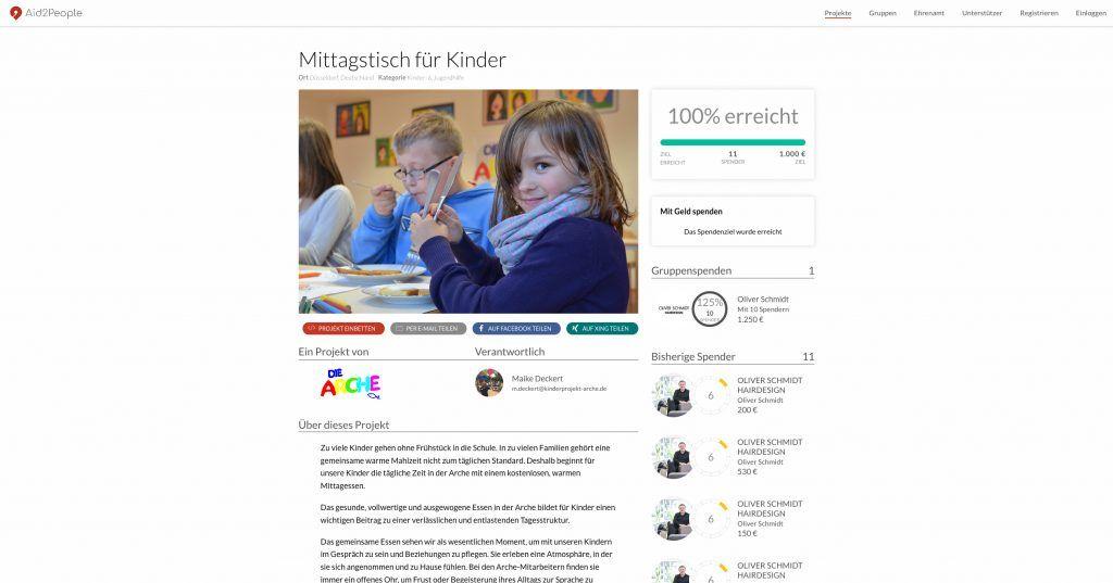 Aid2People Projekt