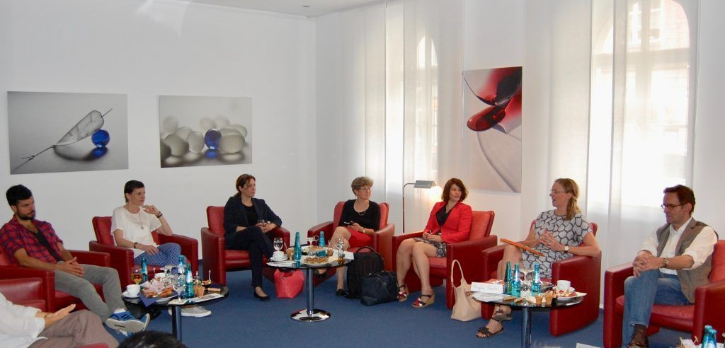 """Philobrunch mit Martina, Interview mit Prof. Angela Poech, Ethica Rationalis: """"Praktische Ethik für den Alltag"""""""