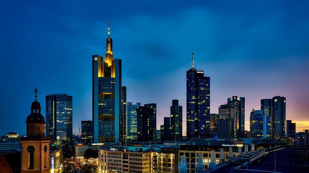 Frankfurt, Bankenkrise