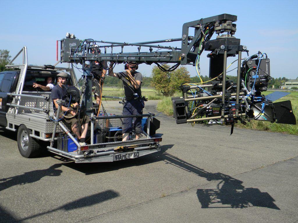 WEISSCAM on 3D Set BMW Motorrad
