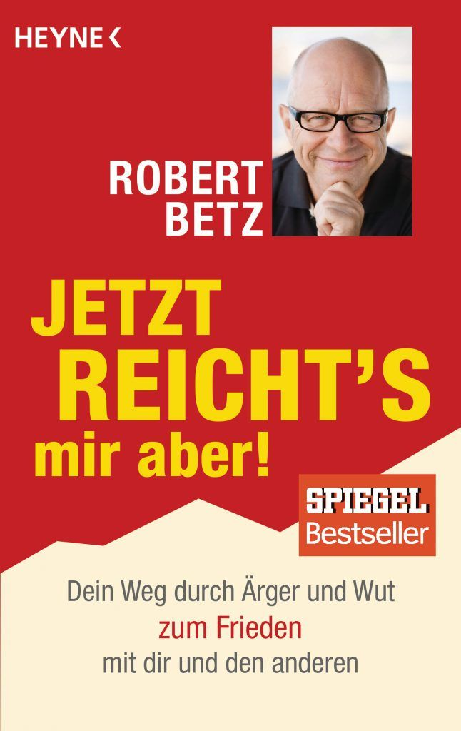 Cover Buch Jetzt reichts mir aber von Robert Betz