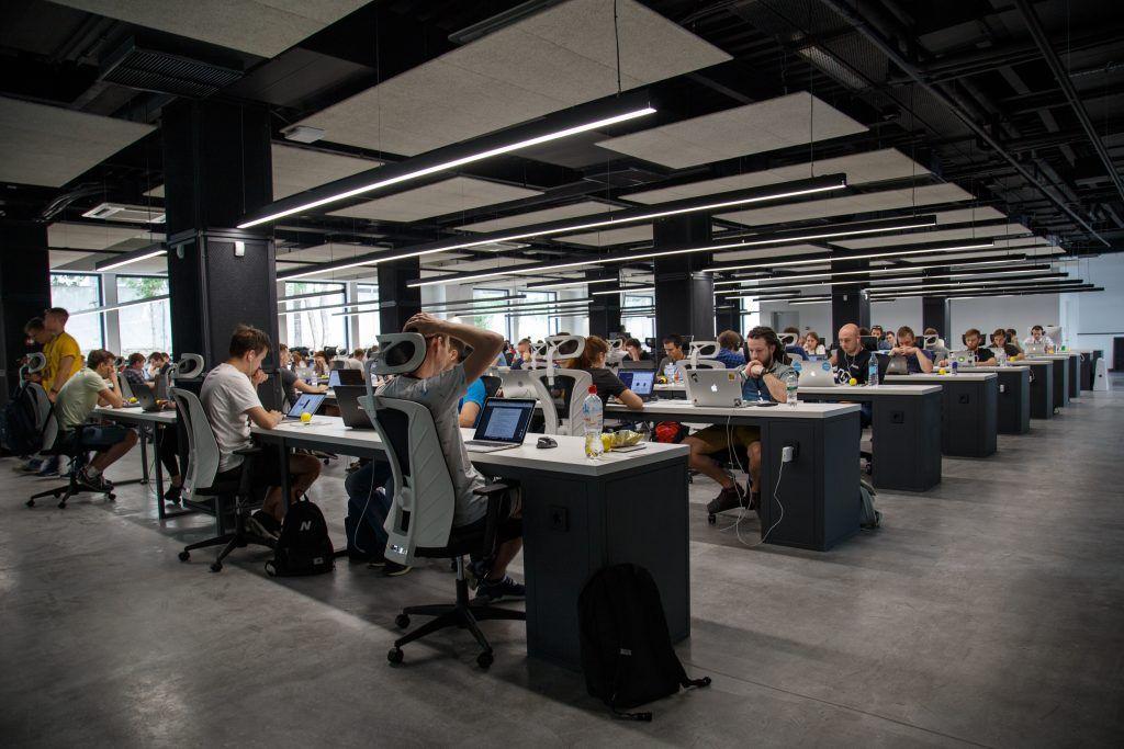 Millennials im Coworking Space