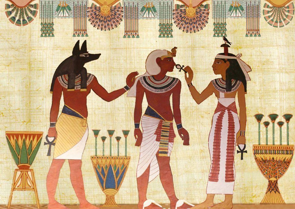Ab 3.000 v. Chr. entwickelten sich dann die ägyptischen Priesterreligionen
