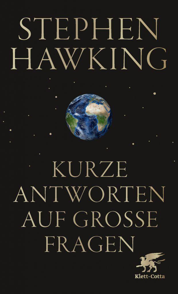"""Buch Cover Stephen Hawking: """"Kurze Antworten auf große Fragen"""""""