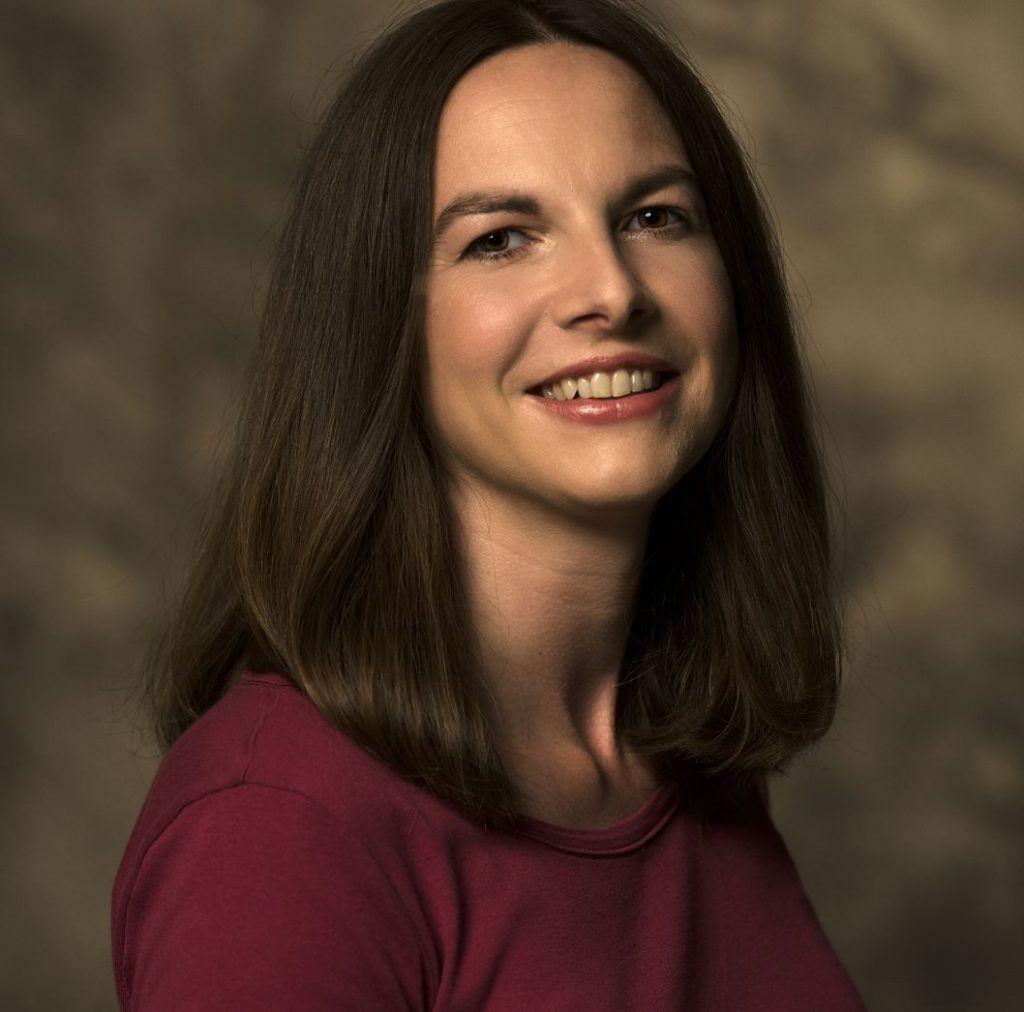 """Julia Hofelich, Autorin des Buches """"Totwasser"""""""