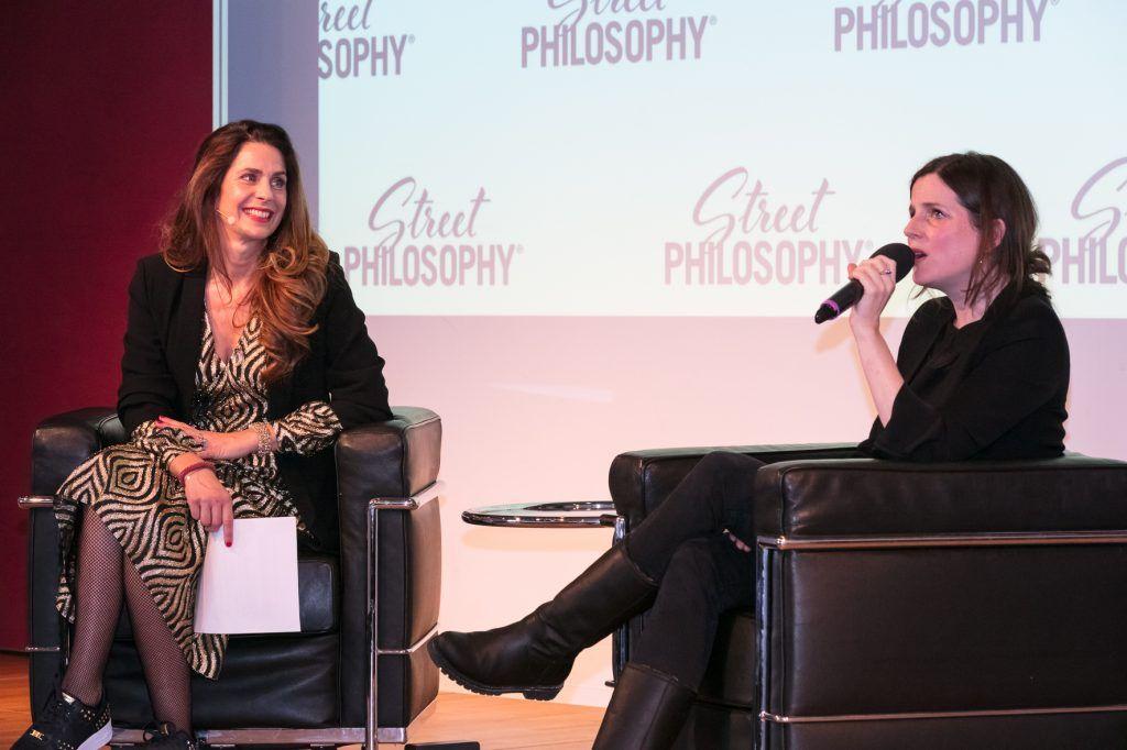 Nina Schmid als Moderatorin