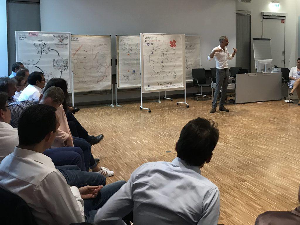 Jens Riese, McKinsey, Workshop für Führungskräfte