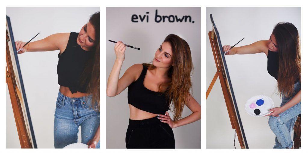 Evelina Arakelyan, Collage Porträts, Bilder und Zitate Freiheit