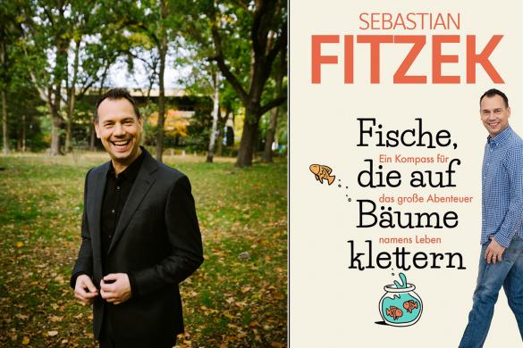"""Interview mit Sebastian Fitzek: """"Fische, die auf Bäume klettern: Ein Kompass für das große Abenteuer namens Leben"""""""