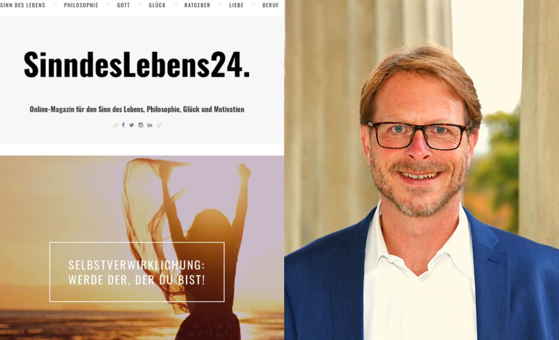 5 Jahre SinndesLebens24: Online-Magazin für Sinn, Philosophie, Glück und Motivation